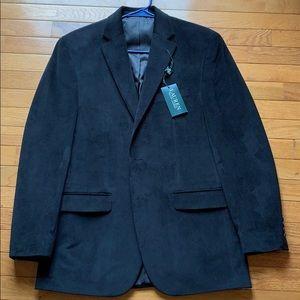 Ralph Lauren suede suit coat